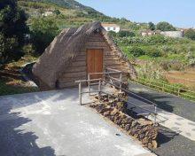 El pajizo de cubierta tradicional ubicado en la Casa Luján de Puntallana ya es accesible 100%.