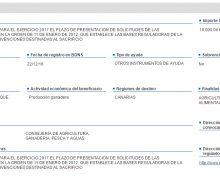 Plazo de presentación de solicitudes de las subvenciones previstas en el orden de 11 de enero de 2012, que establece las bases reguladoras de la concesión directa de subvenciones destinadas al sacrificio