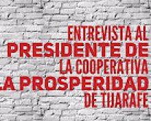 Entrevista con el presidente de la Coop. La Prosperidad de Tijarafe