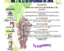 Jornadas de Puertas Abiertas Casa Museo del Vino de Las Manchas | 7 al 12 de Noviembre de 2016