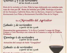 Ruta de la Castaña y el Vino