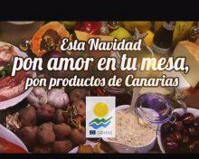 Campaña de Navidad 2017 del Gobierno de Canarias para promocionar el producto local