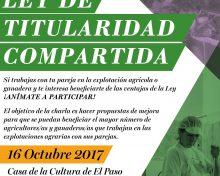 Ley de Titularidad Compartida | 16 de octubre
