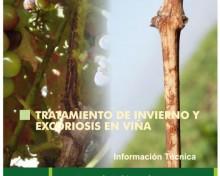 Tratamientos de invierno y de excoriosis en viña