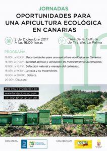 Jornadas Oportunidades para una apicultura ecológica en Canarias