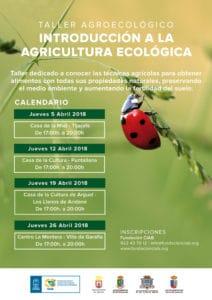 Introducción a la Agricultura Ecológica en Garafía @ Centro La Montera | Santo Domingo | Canarias | Spain