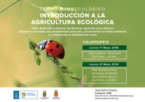 Introducción a la Agricultura Ecológica @ Sala de Exposiciones de la Casa del Quinto | Los Sauces | Canarias | España