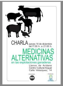 Medicinas Alternativas en las explotaciones ganaderas @ Centro Cultural de Argual | Los Llanos | Canarias | Spain