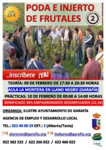 Poda e injertos de frutales nivel 2 @ Aula La Montera | Llano Negro | Canarias | España