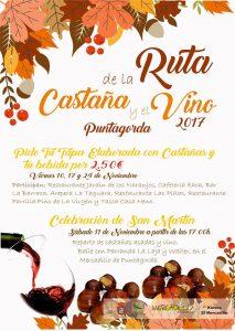 Ruta de La Castaña y El Vino Puntagorda 2017