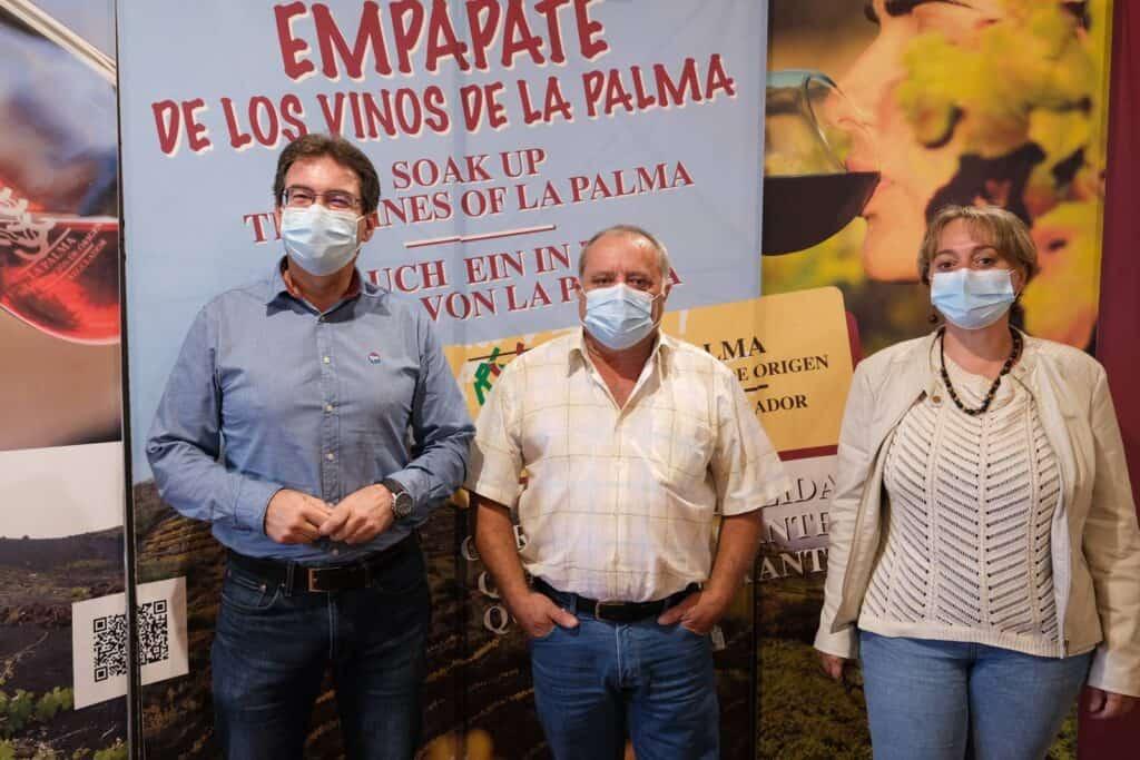 El Cabildo y el Consejo Regulador de Vinos La Palma avanzan en mejoras para el sector vitivinícola