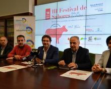 El Cabildo y la Cámara de Comercio vuelven a homenajear al vacuno palmero en el III Festival de Sabores de la Isla