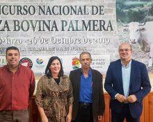 Villa de Mazo acogerá el I Concurso Nacional de la Raza Bovina Palmera