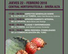 Especial cultivo de la Tunera (Charlas y publicaciones)