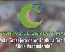 Entrevista Consejera de Agricultura: Alicia Vanoostende | Canarios de Campo y Mar
