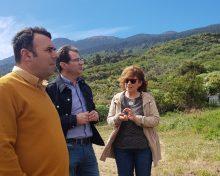 El Cabildo contribuye a desarrollar la Finca de Formación Agroecológica de Tirimaga