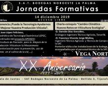 Bodegas Noroeste de La Palma clausura los actos conmemorativos de su XX Aniversario