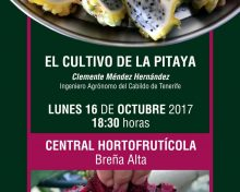 Especial cultivo de la Pitaya (Charlas y publicaciones)
