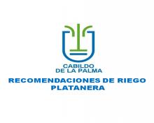 Recomendación de riego en platanera del 11 al 17 de mayo de 2020