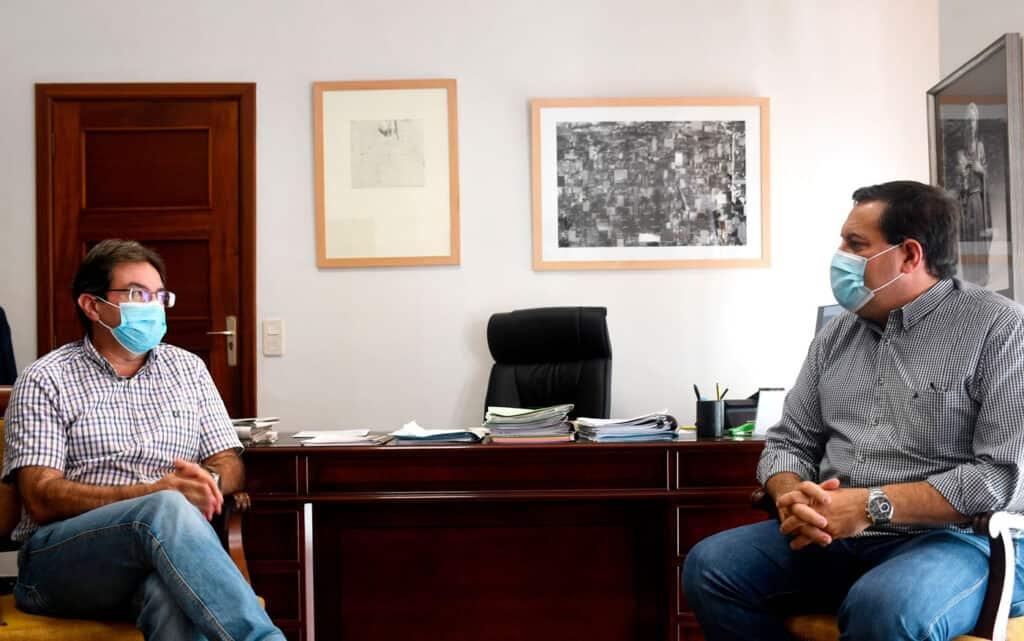 El Cabildo y el ICCA cooperan para impulsar la competitividad de los productos agroalimentarios de La Palma.