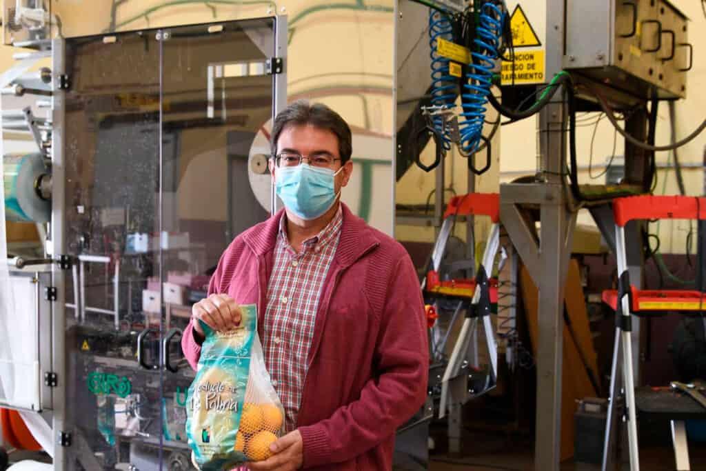La Central Hortofrutícola incorpora una nueva enmalladora para potenciar los cultivos de medianías en La Palma
