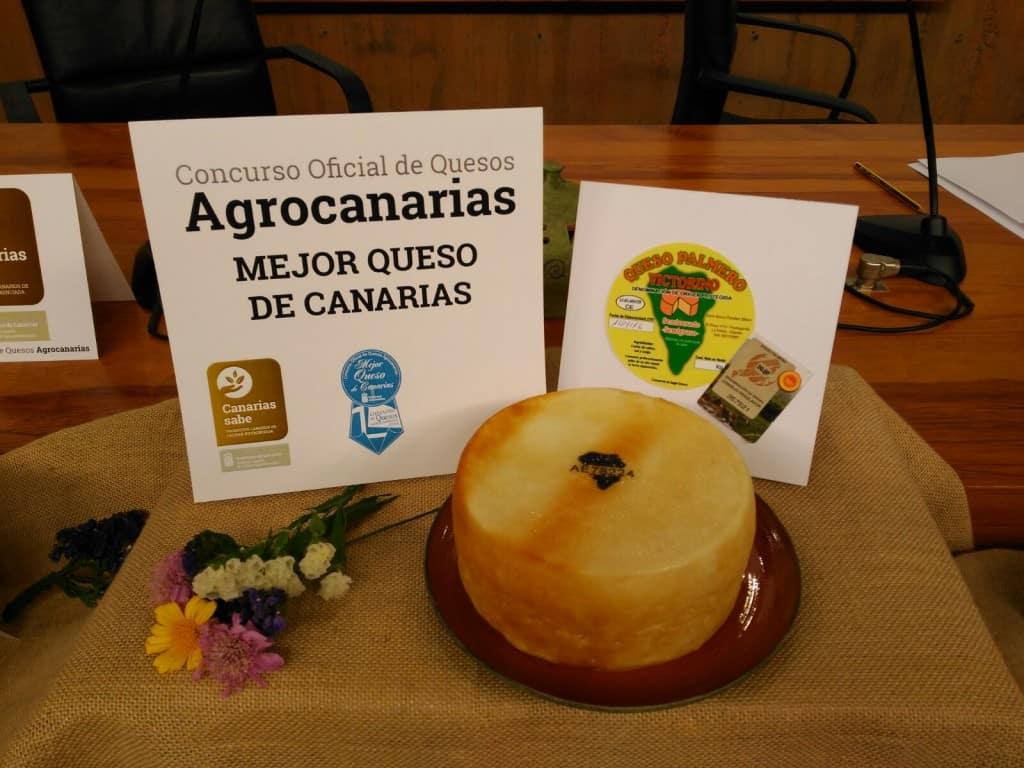 mejor queso de canarias 2016